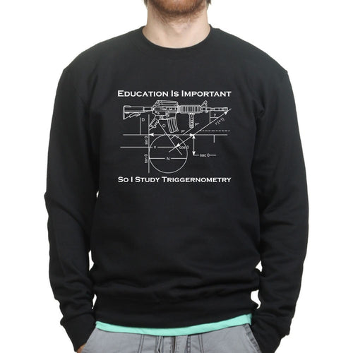 Triggernometry is Important Mens Sweatshirt