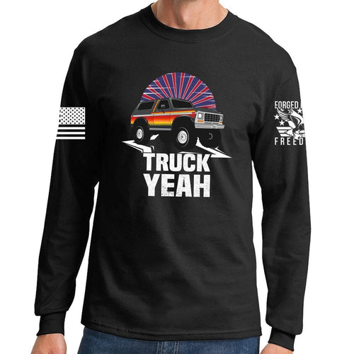 Truck Yeah - Bronco Long Sleeve T-shirt