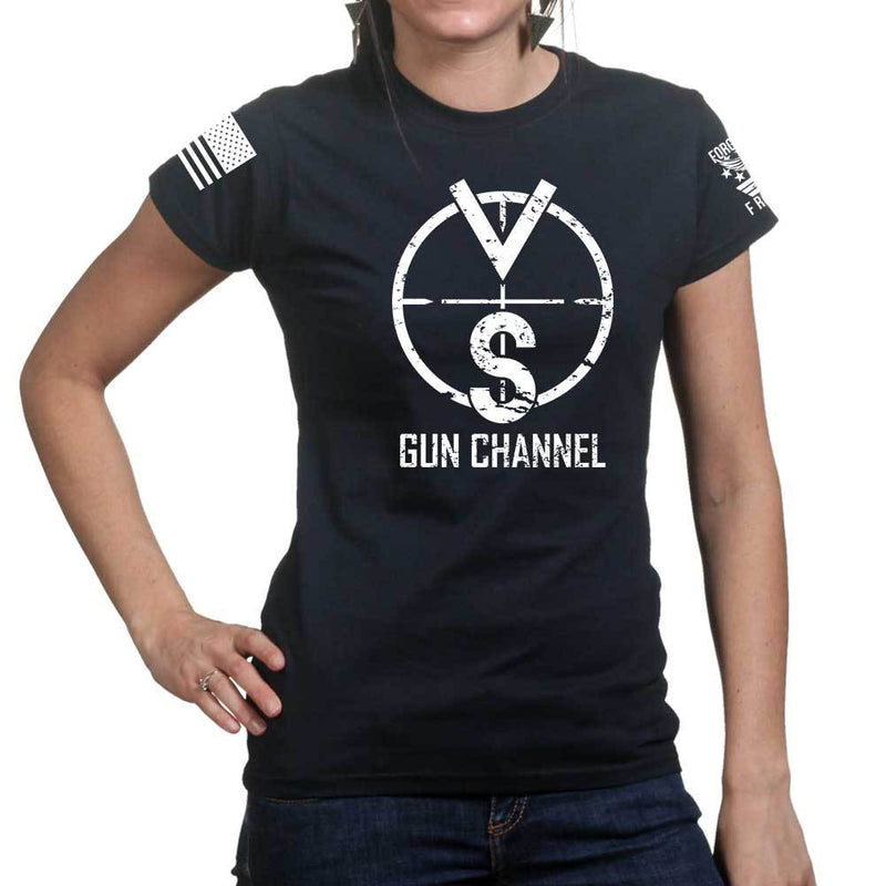VSO Gun Channel Logo Ladies T-shirt