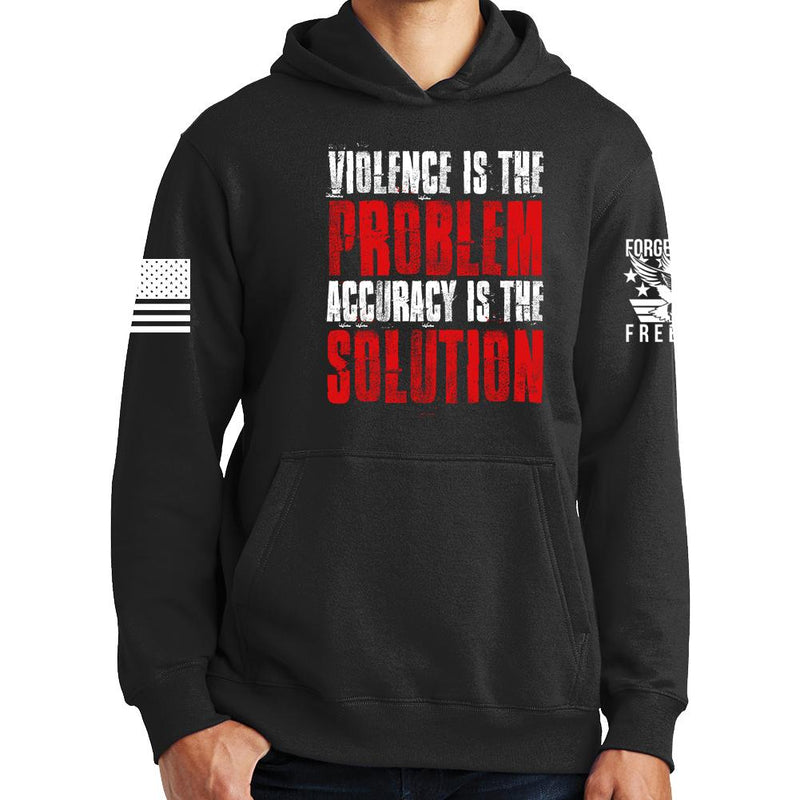 Violence Is The Problem Hoodie