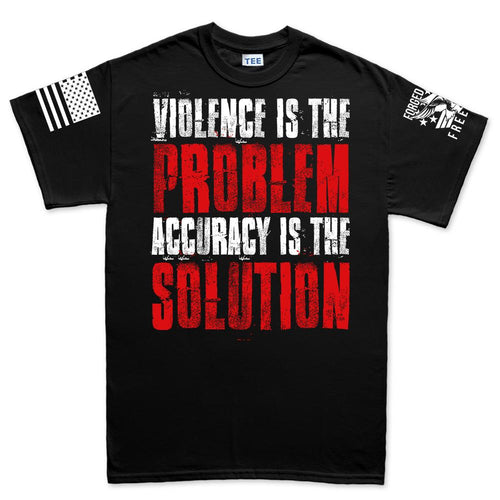 Violence Is The Problem Men's T-shirt