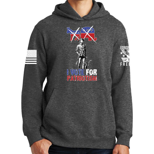 Vote for Patriotism Hoodie