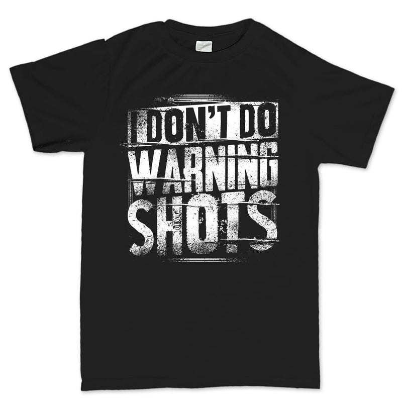 Men's No Warning Shots T-shirt