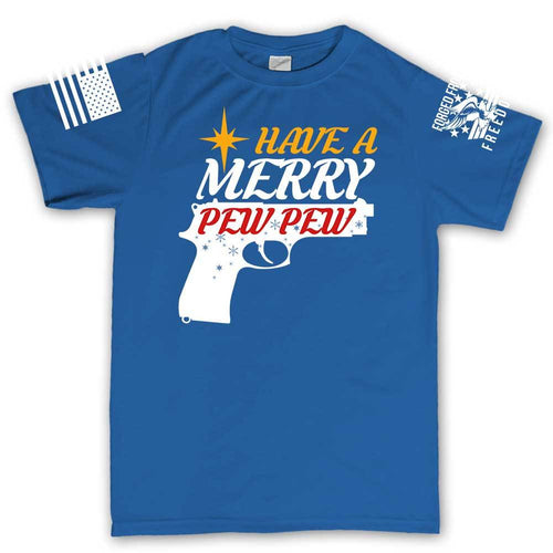 We Wish You A Merry Pew Pew Men's T-shirt