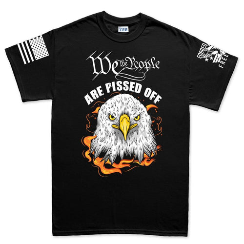 Mens We The People Are Pissed Off  T-shirt