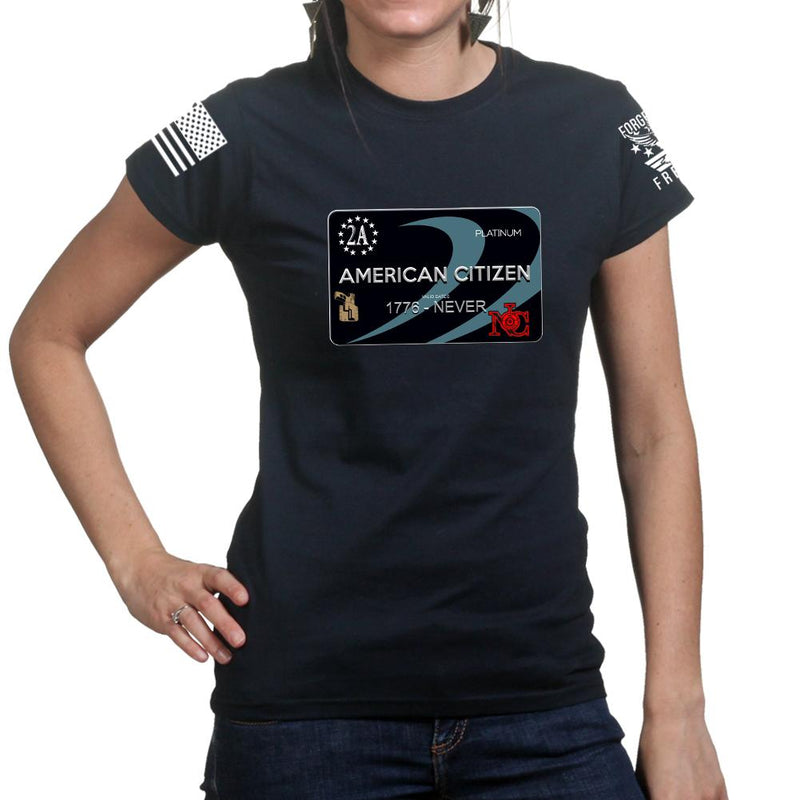 Freedom Card Ladies T-shirt