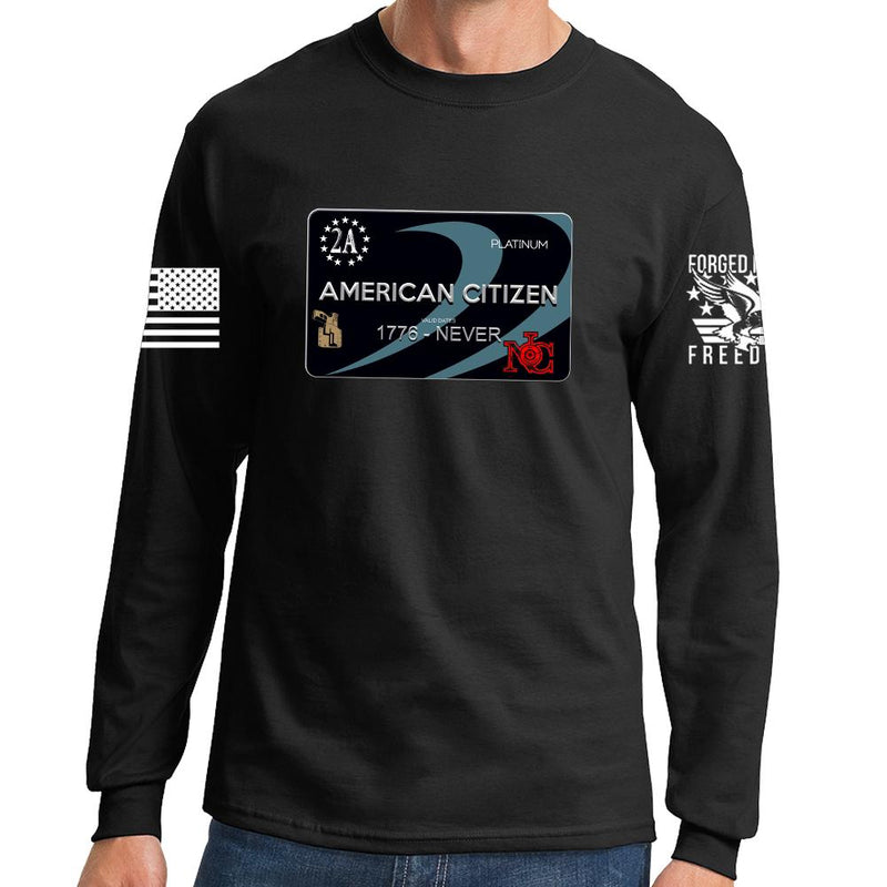 Freedom Card Long Sleeve T-shirt