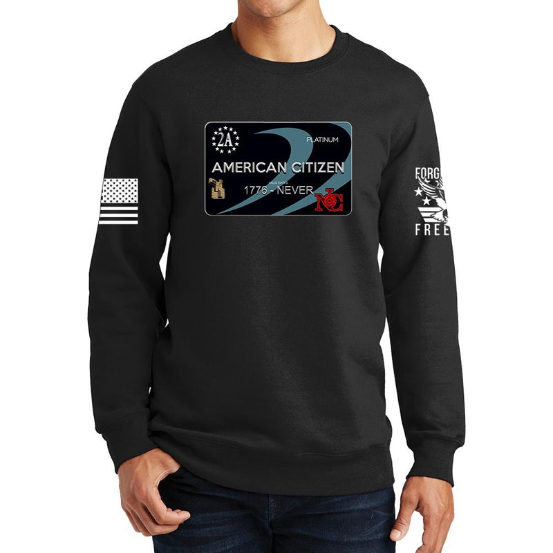 Freedom Card Sweatshirt