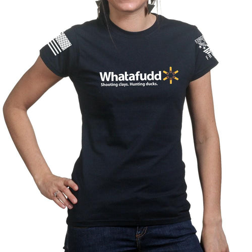 Ladies Whatafudd T-shirt