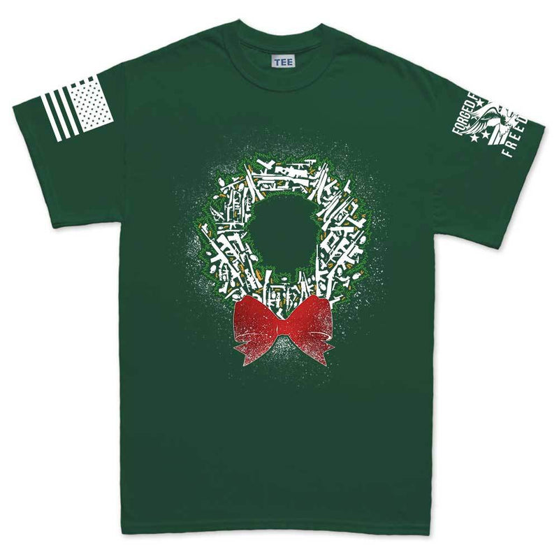 Gun Wreath Men's T-shirt