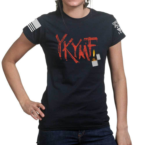 Yippee Ki Yay Ladies T-shirt