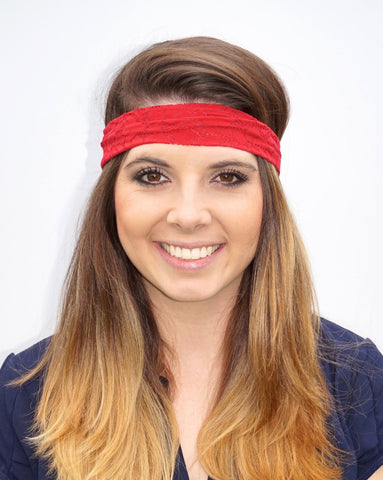 Red Lace Headband