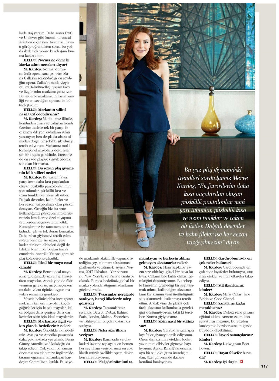 Interview of Merve Kardes continued