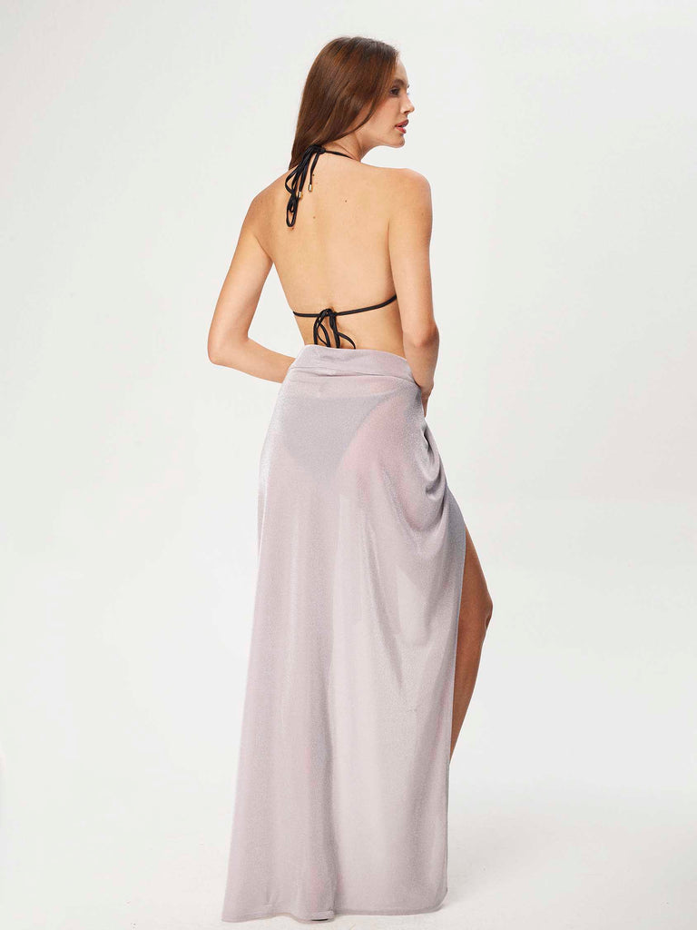 Lavender Chalcedony Long Sarong