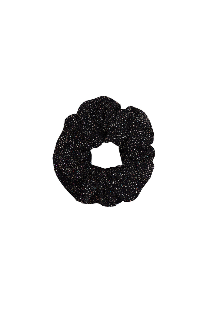 BABE SCRUNCHIE - INFINITY BLACK