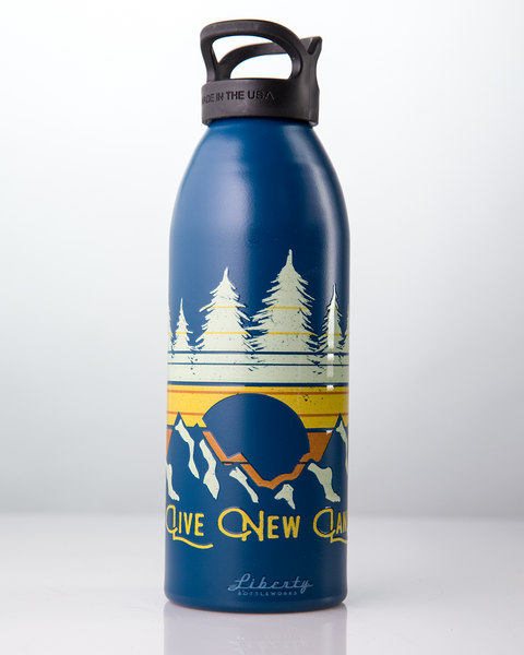 Mountain Sunrise Water Bottle - 32oz