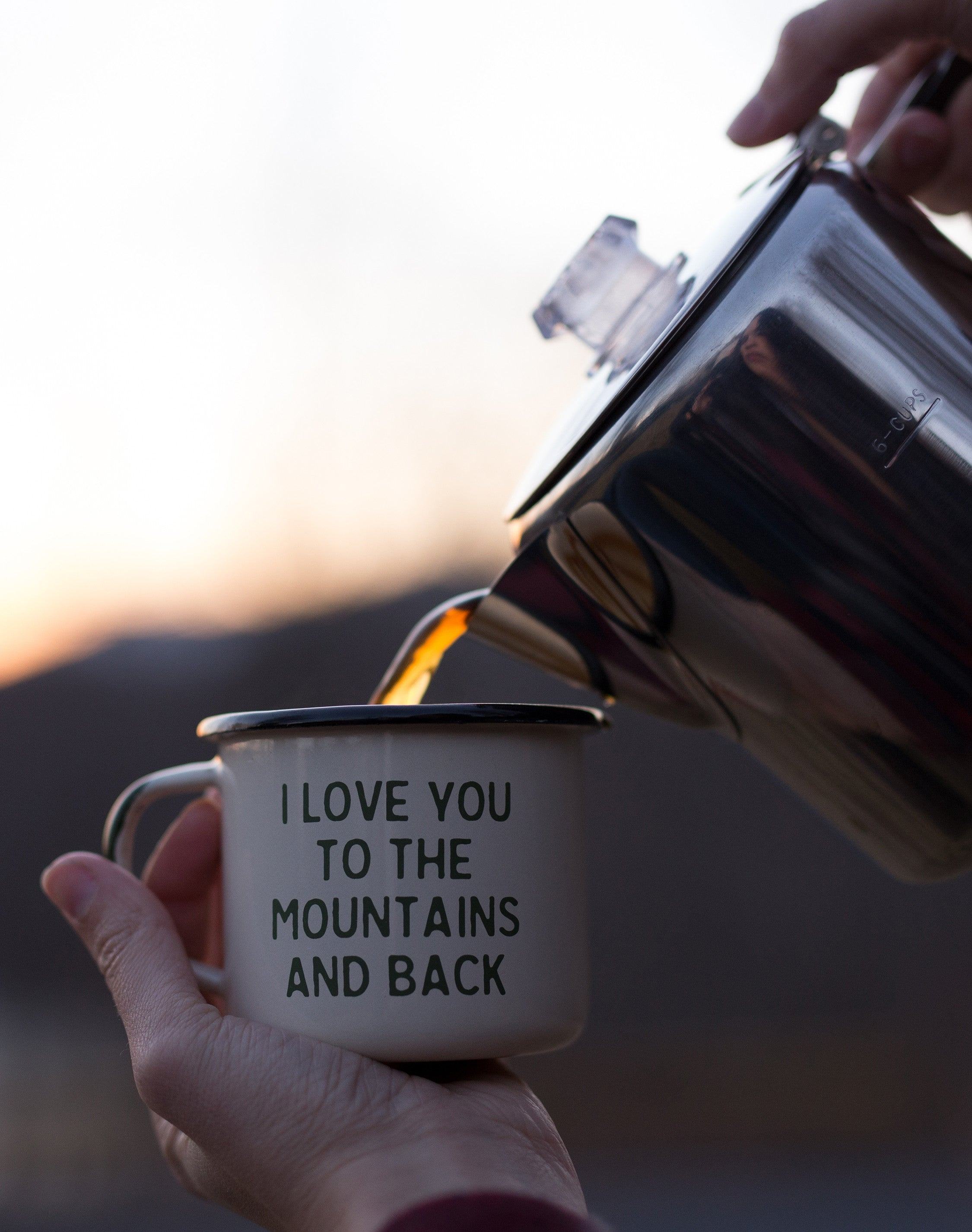 THE ORIGINAL MOUNTAIN LOVIN' CAMP MUG