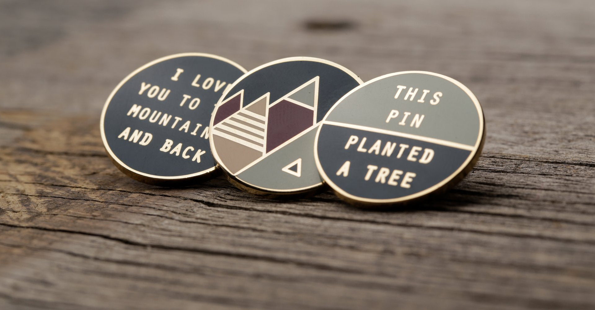 outdoor adventure enamel pins