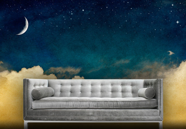 Magical Night Sky Wall Mural