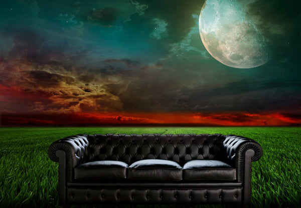 Full Moon Dramatic Sky Wall Mural