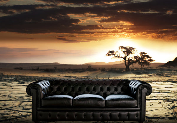 Desert Sunset Wall Decal