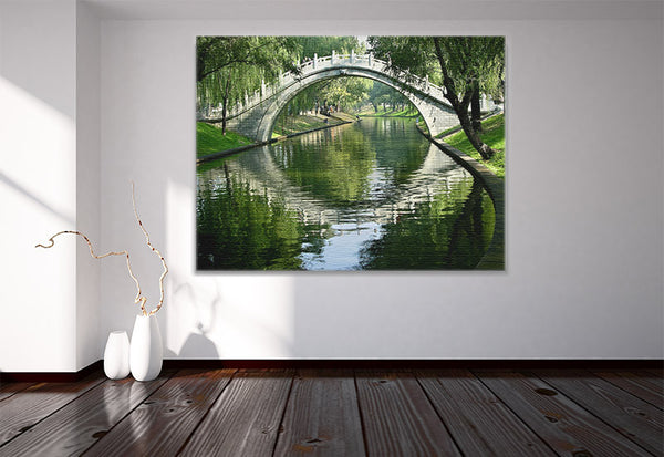 Arch Bridge Canvas
