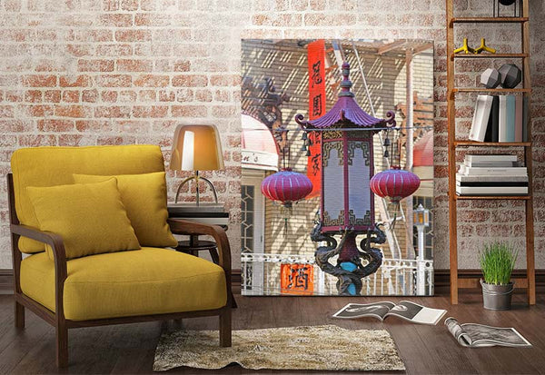 Asian Lantern Canvas