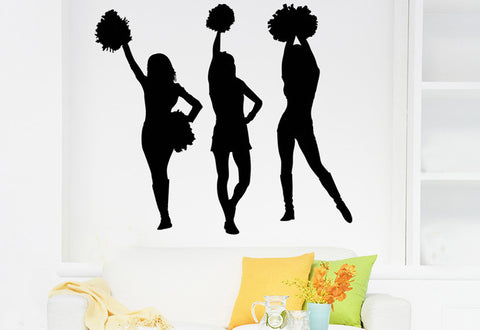 Cheerleaders Wall Decal