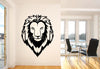Male Lion Head Wall Decal