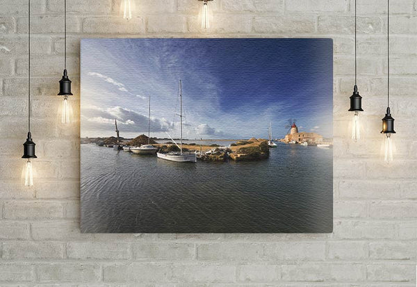 Boats on the Water Canvas