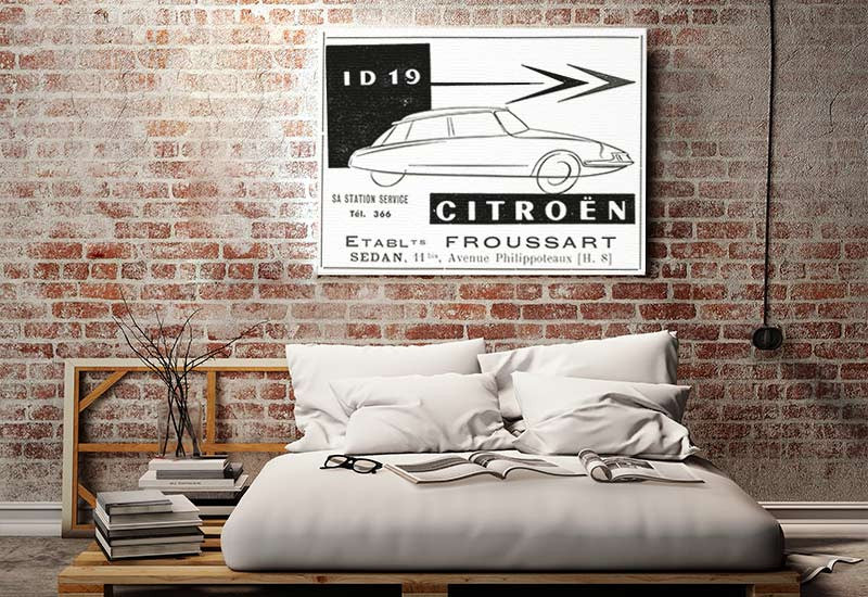 Citroën Poster Canvas