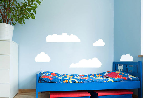 Clouds #2 Wall Decal - Set of 6