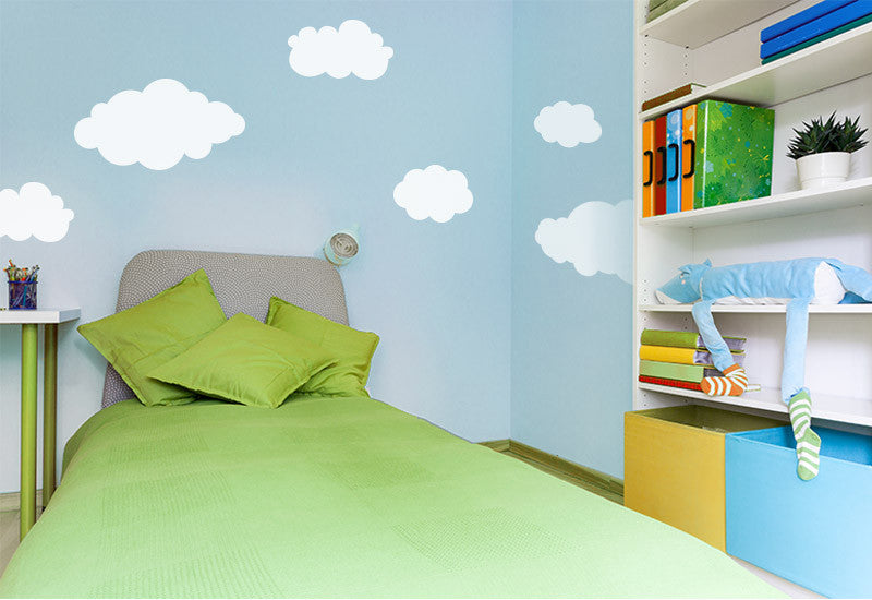 Clouds #1 Wall Decal - Set of 6