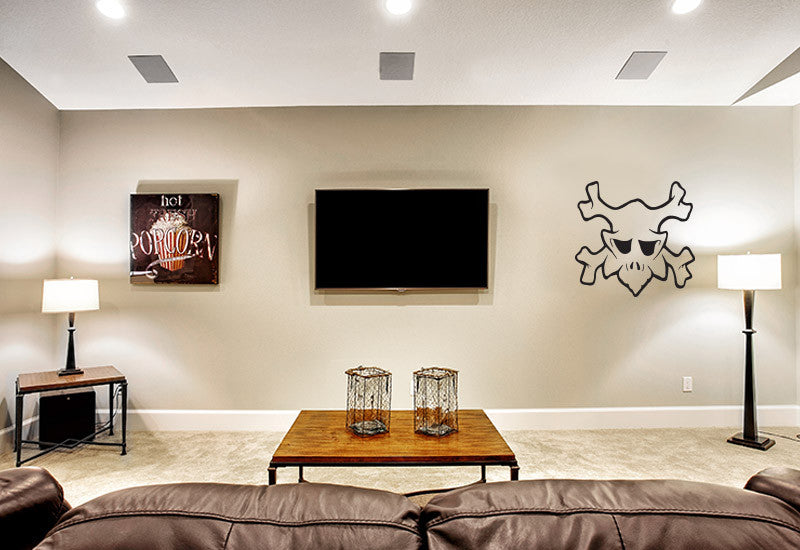 Skull #1 Wall Decal