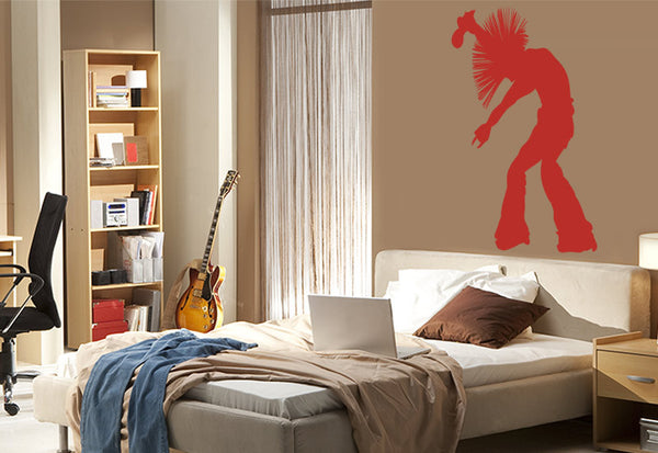 Rocker Wall Decal