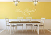 Bon Appetit Wall Decal