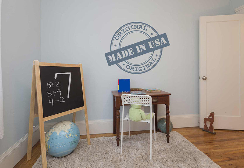 Made in The USA Stamp Wall Decal