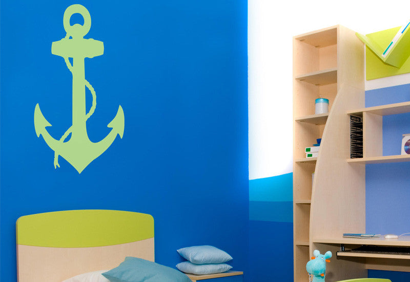 Anchor & Rope Wall Decal