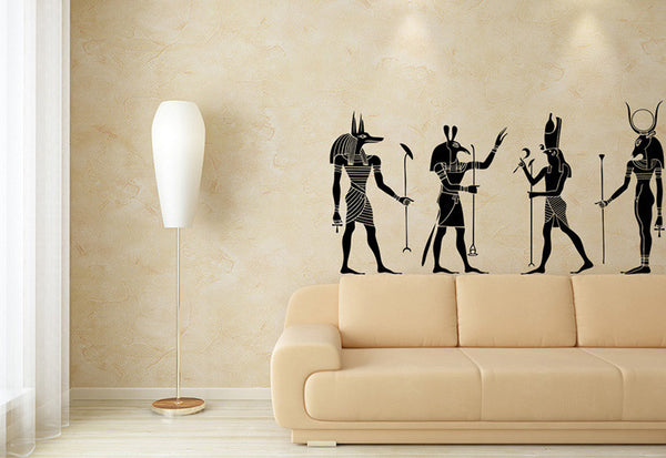 Egyptian Gods Wall Decal