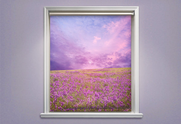 Field of Flowers Roller Shades