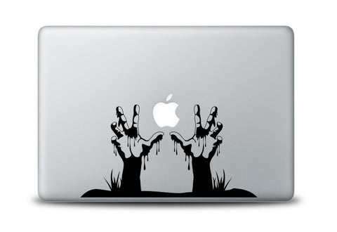 Grave Hands Decal for Laptops