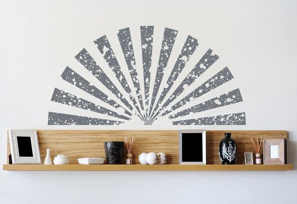 Asian Fan Wall Decal