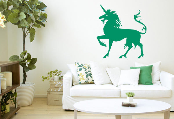 Modern Unicorn Wall Decal