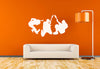 Guitar Player Rockers Wall Decal