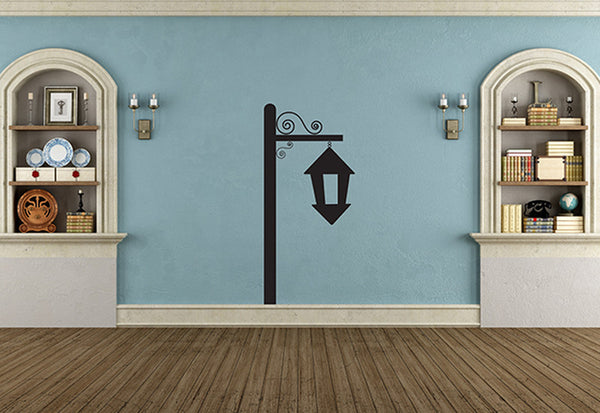 Hanging Birdhouse Wall Decal