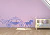 Horse and Carriage Wall Decal