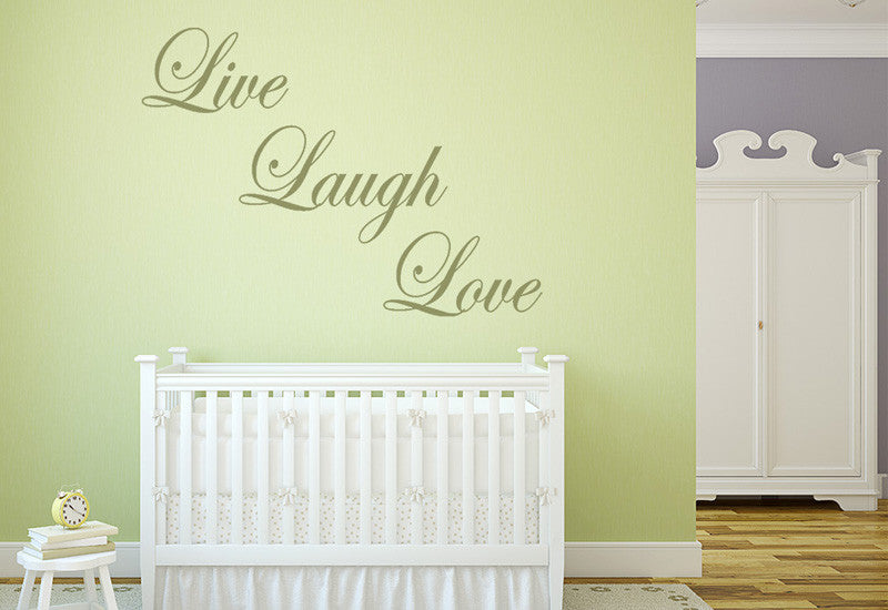 Live Laugh Love Wall Decal – Easy Decals