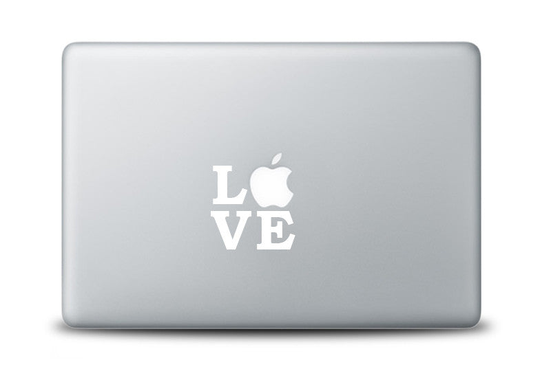 Love Decal for Apple Macbook Laptops