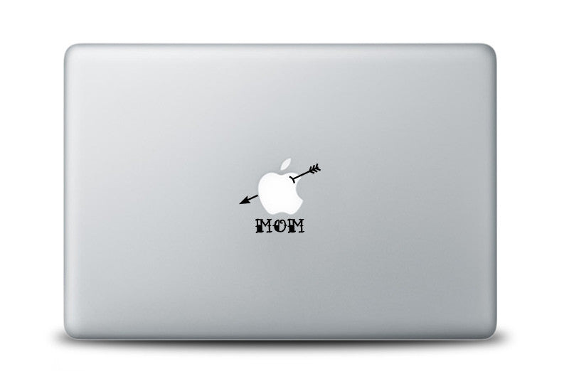 Mom Tattoo Decal for Apple Macbook Laptops
