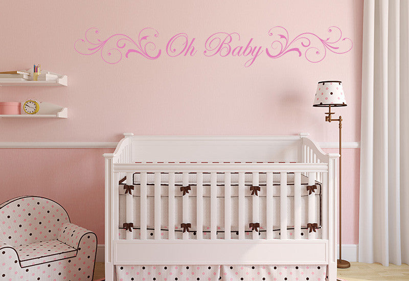 Oh Baby Wall Decal